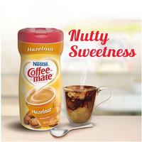 Nestle Coffee Mate Hazelnut Powder Creamer krimer bubuk import 15oz