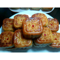 MOON CAKE / TONG TJU PIA / KUE BULAN HOMEMADE 1KG - Tausa htm Telor