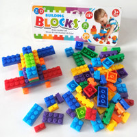 BUILDING BLOCKS NO.5 ZD PREMIUM TOYS - MAINAN EDUKASI ANAK LEGO BRICKS