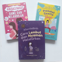 Paket Buku Bidan Yesie Aprilia Bebas Takut Yoga Hamil Melahirkan Laris