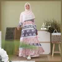 Gamis Aliya Dress Seri G by Zizara - Gamis Motif Murah