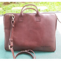 Laptop Case Leather (Sarung Laptop Kulit) for Laptop 13-15 Inch