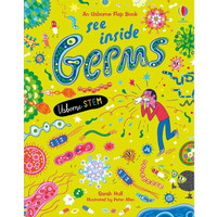 An Usborne Flap Book See Inside Germs (STEM). Buku Anak Import