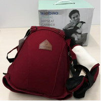 Gendongan Baby Carrier Hipseat Aiebao 6626 4 in 1 Animal Maroon