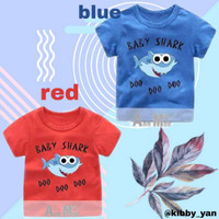 KAOS ANAK BABY SHARK DOO DOO DOO - baju baby shark pink fong