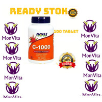 Now Foods C 1000 C 1000 vitamin C 1000mg 100 tablet