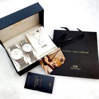 Jam Tangan Couple D8889 Paket Free sesuai foto terlaris