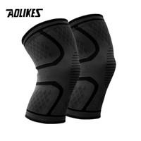 Aolikes Pelindung Lutut Knee Support Pad Brace Fitness 1 Pair