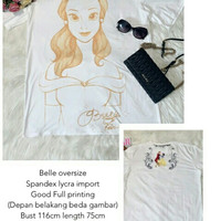 Belle Oversize import Import Kaos