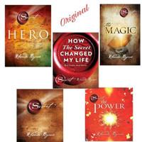 Paket 5 Buku The Secret Magic Power Hero Changed My Life Rhonda Byrne