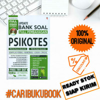 BUKU UPDATE BANK SOAL PSIKOTES TPA TBS