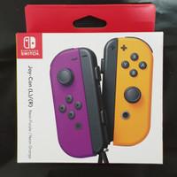 Nintendo Switch Joycon Joy-Con Neon Purple Neon Orange