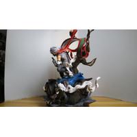 GK Statue Figure Hatake Kakashi Shinobu Anbu Pakkun Bull Naruto Anime