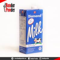 Susu Diamond UHT 1 Liter Full Cream - Diamond Milk UHT - Bandar Powder
