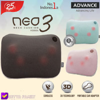 Bantal pijat (wireless) NEO NECK 3 ADVANCE - Biru Muda