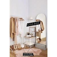 FREEONGKIR - 150x50cm GOLDIE Bracket Standing Vanity Mirror Cermin