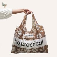 Kantong Belanja | Tas Lipat | Grocery Bag Motif Batik - Tatie