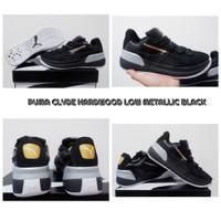 Sepatu Basket Puma Clyde Hardwood LOW Metallic Black