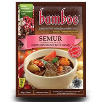 Bamboe Bumbu Semur 69 gr / Indonesian Braised Beef Chicken Spices
