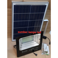 lampu tembak flood light solar cell panel surya 100w 100 watt 100watt