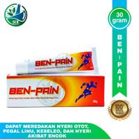 Ben-Pain Isi 30g - Untuk Encok, Kesleo, Dan Sakit Pinggang