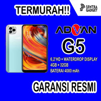 HP ADVAN G5 RAM 4GB ROM32GB