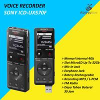 Voice Digital Recorder Sony ICD-UX570F | Alat Perekam Rekaman Suara