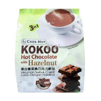 Chek Hup Kokoo Hot Chocolate with Hazelnut 15x40gr