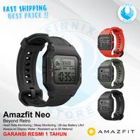 Amazfit Neo Retro Smartwatch Always-on Display - GARANSI RESMI