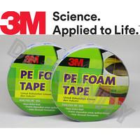 Double Tape 3M 1600 T PE Foam Tape 24mm x 4 M Meter
