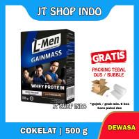 L-Men Gain Mass 500gr 500 gram Lmen Gainmass Susu Whey Protein Murah