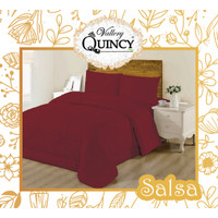 BED COVER SET VALLERY QUINCY KING UK 180x200x30cm - - -
