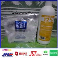 bleaching rambut matrix light master 500gr + oxidant matrix 1Liter