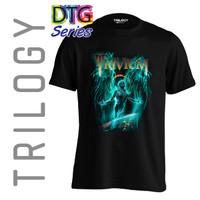 Kaos Premium - Trivium- TRILOGY DTG 0333 - HEAVY METAL BAND - Hitam, S