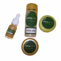 Paket Krim Pemutih Wajah Glowing (4 produk) Lebih hemat