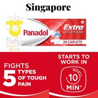 Panadol Extra Singapore 20 caps