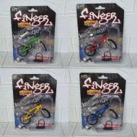 Miniatur Diecast figure Sepeda Finger Game Miniatur Sepeda BMX murah