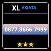 Nomor Cantik XL bebas isi ulang prabayar 0877 3666 7999