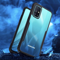 Case Samsung Galaxy M51 2020 Case Softcase Hybrid Tranparan Hard Cover