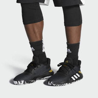 Sepatu Basket Adidas Pro Bounce Low Black Gold EF0469 Original 100%