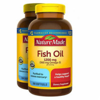 nature made fish oil 1200mg 360mg omega 3 200 tablet