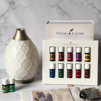 young living package diffuser & oil
