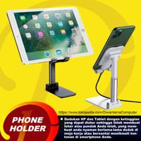 Phone Holder Stand Holder Dudukan Handphone Tablet - Hitam