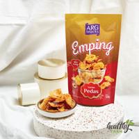 ARG Keripik Emping Melinjo Pedas Manis Gurih Renyah Crunchy (Balado)