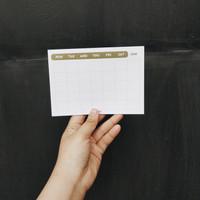 Memopad Monthly Planner