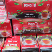 Tong Tji Teh Celup Black Tea Original 25s
