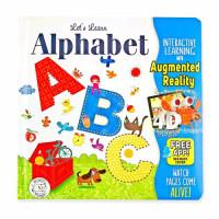 Book Alphabet ABC - Augmented Reality 4D Hippo Magic - Buku Anak