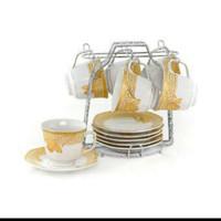 Tea Set / Cangkir dan Lepek / Cup & Saucer C78-1 Vicenza