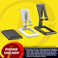 Phone Holder Stand Holder Lipat Dudukan Handphone Tablet - Hitam