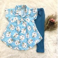 Grosir ELBOX Setelan Tunik anak Perempuan Size 1-2 Tahun Terbaru Murah